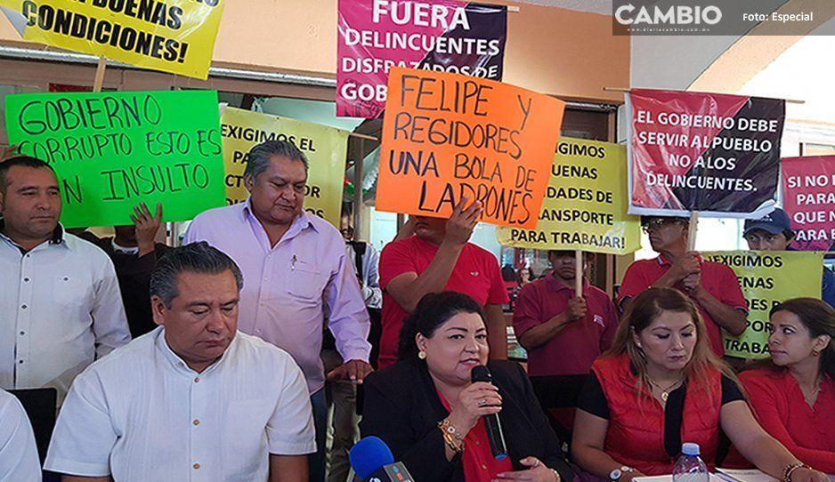 14 millones de pesos adeuda Patjane al STSHATP (VIDEO)
