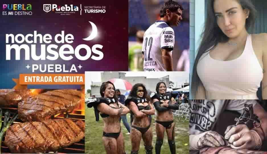 Celia Lora, Asado Fest, Noche de Museos, Mambas Negras, Expo tatuaje y muchas cosas más que puedes hacer en Puebla este puente