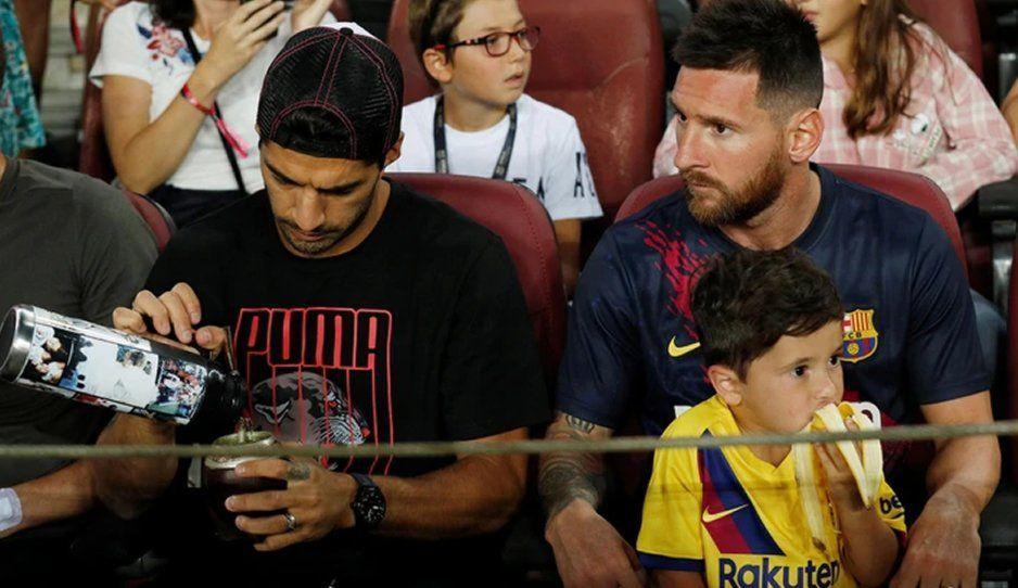 Mateo Messi se roba la noche en el Barcelona vs Betis, festejando las jugadas del club sevillano (VIDEO)
