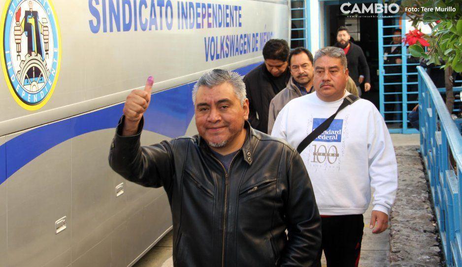 INE auxiliará al sindicato de Volkswagen en la elección de sus nuevos representantes