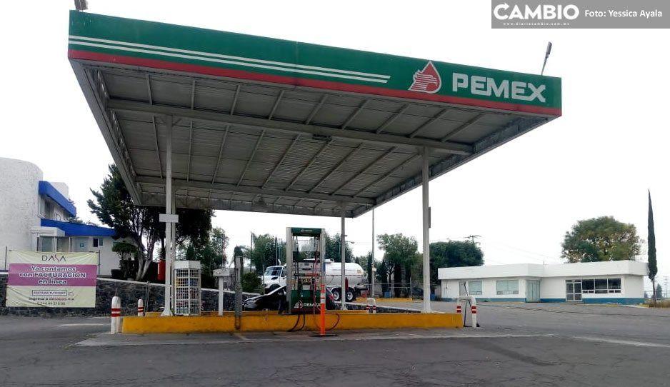 Detienen a tres sujetos por robo en gasolineras de Atlixco