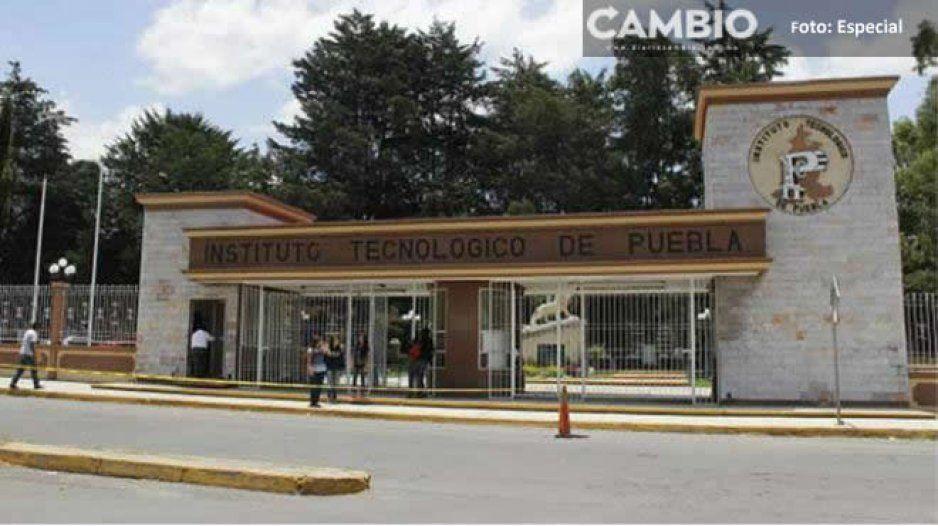 Joven sufre crisis nerviosa afuera del Tecnológico de Puebla