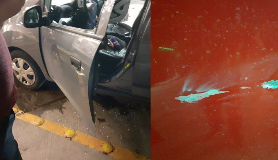 ¡Cuidado! A pedradas atacan a automovilistas para asaltarlos en la México-Puebla