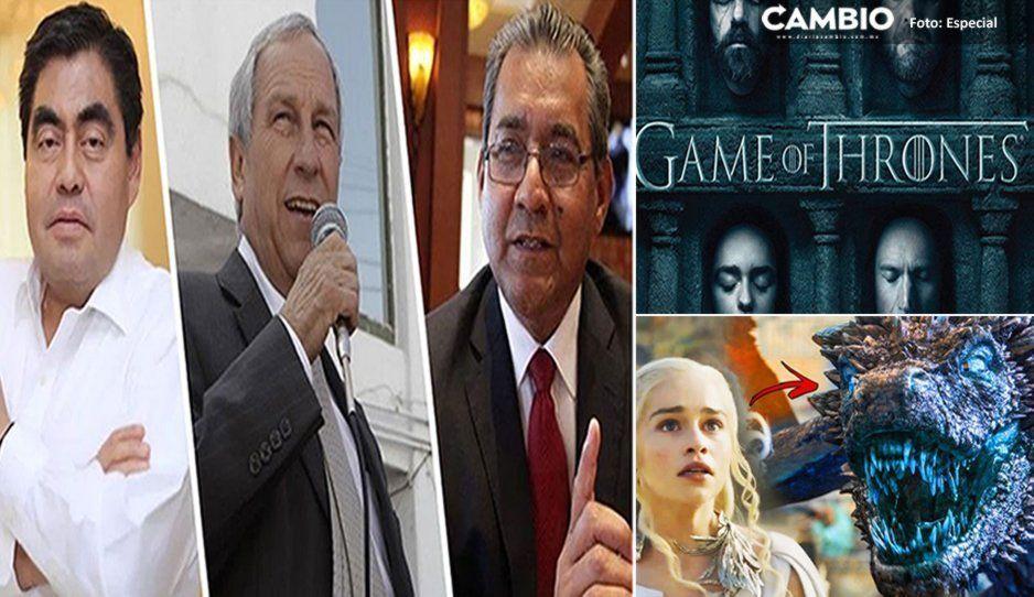 Episodio final de Juego de Tronos coincidirá con debate de candidatos a la gubernatura de Puebla ¿cuál verás tú?