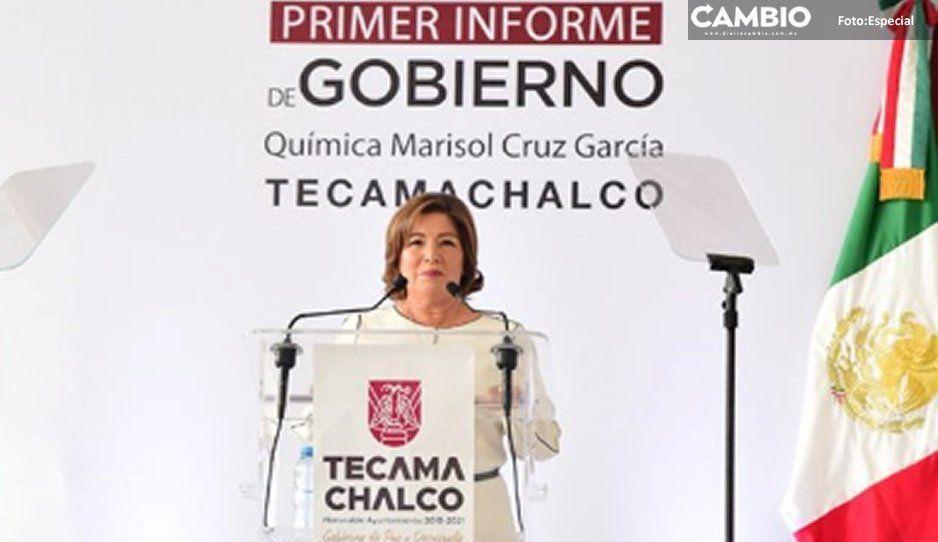 Alcaldesa Marisol Cruz miente en su informe:  en Tecamachalco sólo gobierna la inseguridad
