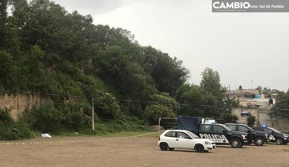 Jueves sangriento: Hallan al tercer asesinado del día en los campos de fútbol de Xochimehuacán (VIDEO)
