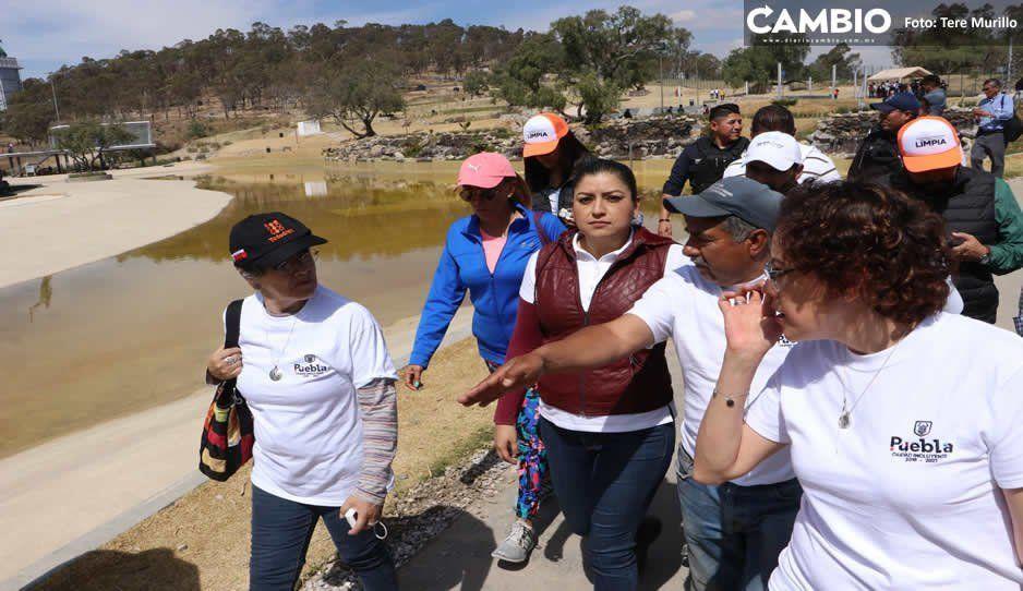 Comuna cobrará por uso de canchas y sanitarios en el Parque Amalucan