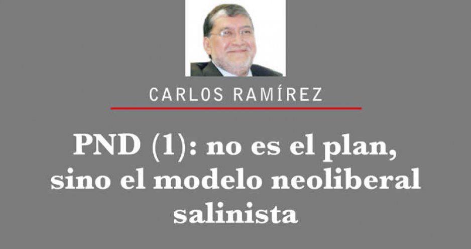 PND (1): no es el plan, sino el modelo neoliberal salinista