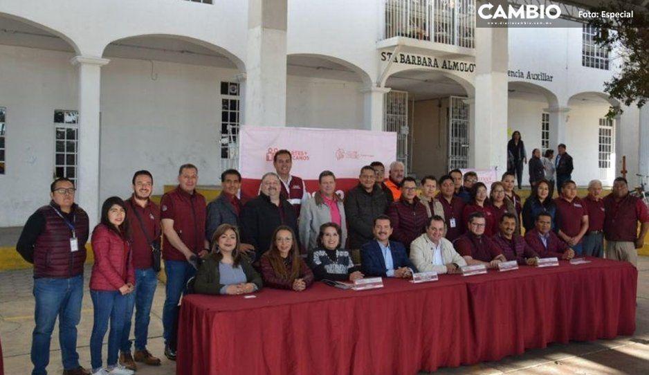 Gobierno de San Pedro Cholula brinda  servicios en Santa Bárbara Almoloya