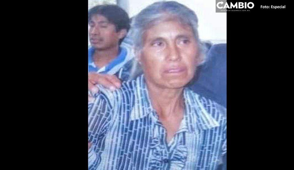 Desaparece mujer de la tercera edad en Coronango ¡Ayuda a que regrese a casa!