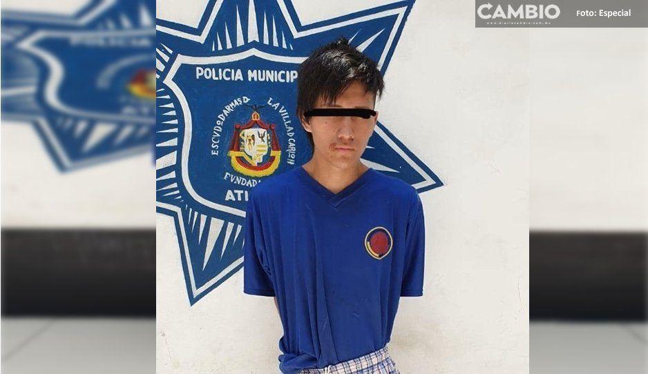 Detienen a joven por robarse un autoestéreo, luego queda en libertad