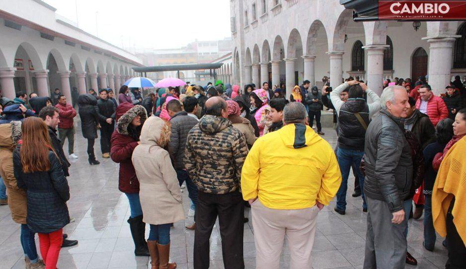 Teziutlán realiza macrosimulacro; participan más 300 funcionarios del Ayuntamiento