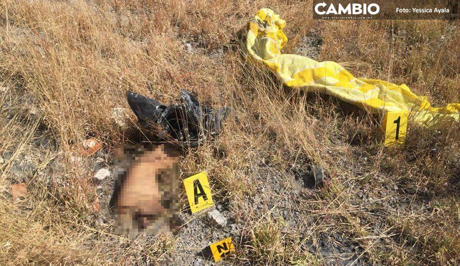 Hallan un cuerpo en Atlixco: descuartizado y sin cabeza