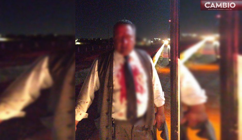 Avientan piedras a autobús y lesionan al chofer en la Puebla-Orizaba