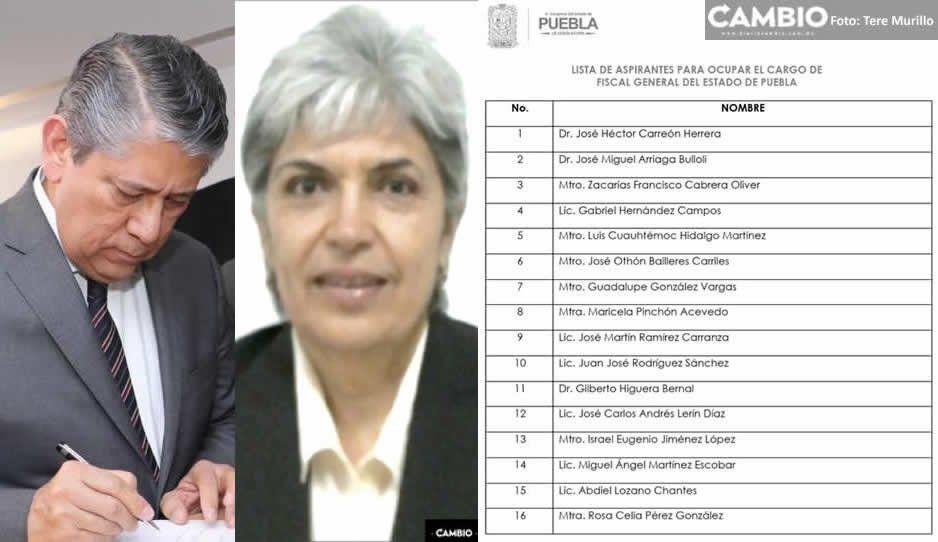 Higuera y Rosa Celia la jueza del escándalo de Cacho buscan ser los nuevos fiscales ¡Aquí la lista completa!
