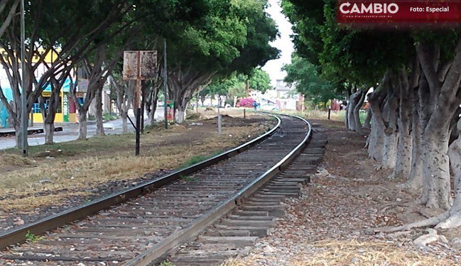 Tren decapita a hombre en Tehuacán