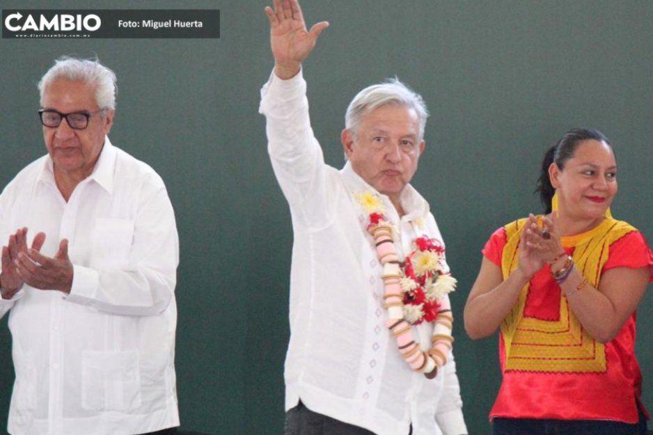 AMLO aclara en Atlixco que no había venido a Puebla por el tema de elecciones