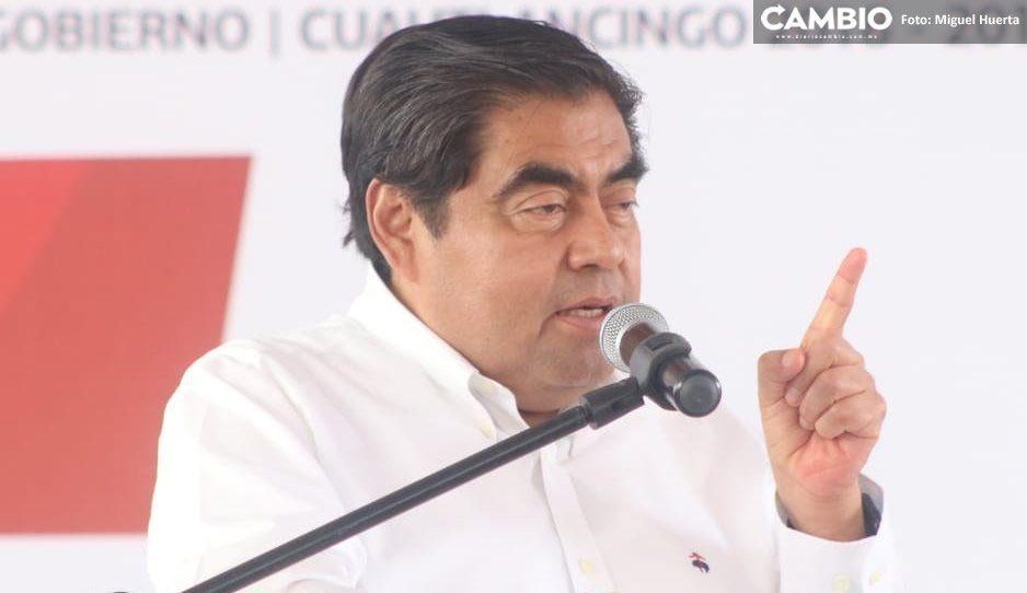 Anuncia Barbosa construcción de parque lineal y entubado de Valsequillo en Tehuacán