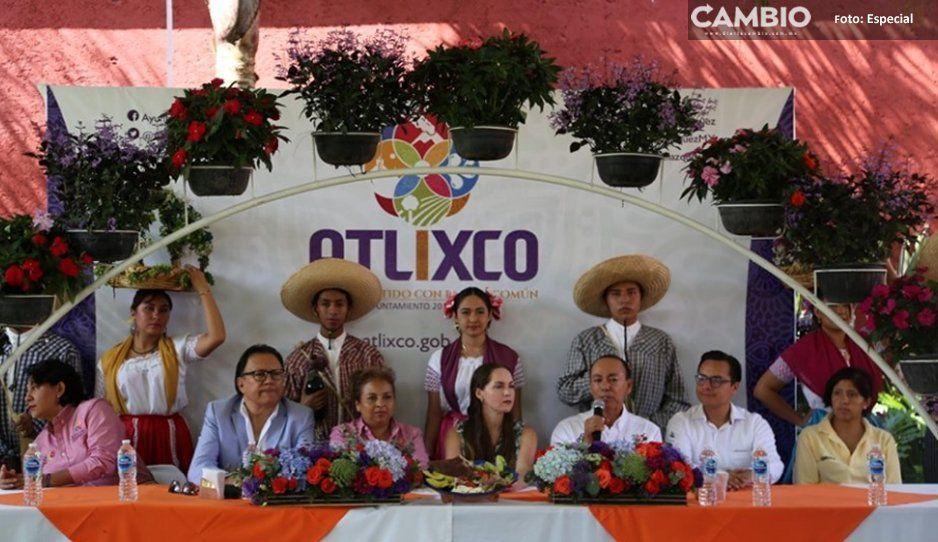 Presentan la decimocuarta edición  de la Feria de la Cecina en Atlixco