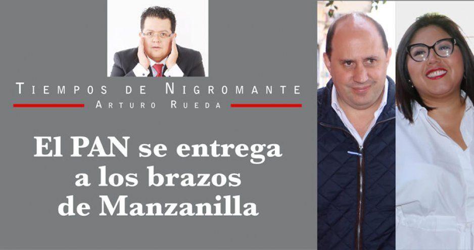 El PAN se entrega a los brazos de Manzanilla