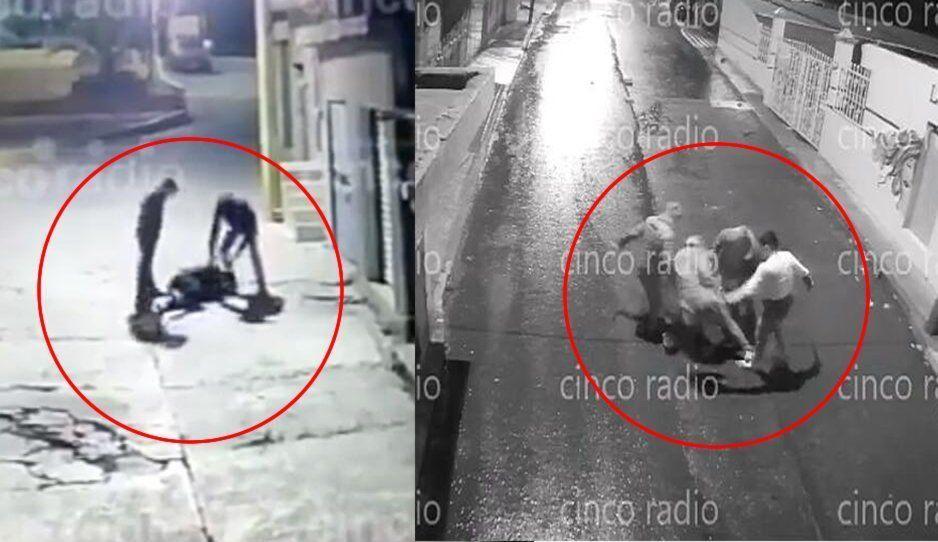 Ratas de Canoa golpean a mujeres y niños durante asalto (VIDEOS)
