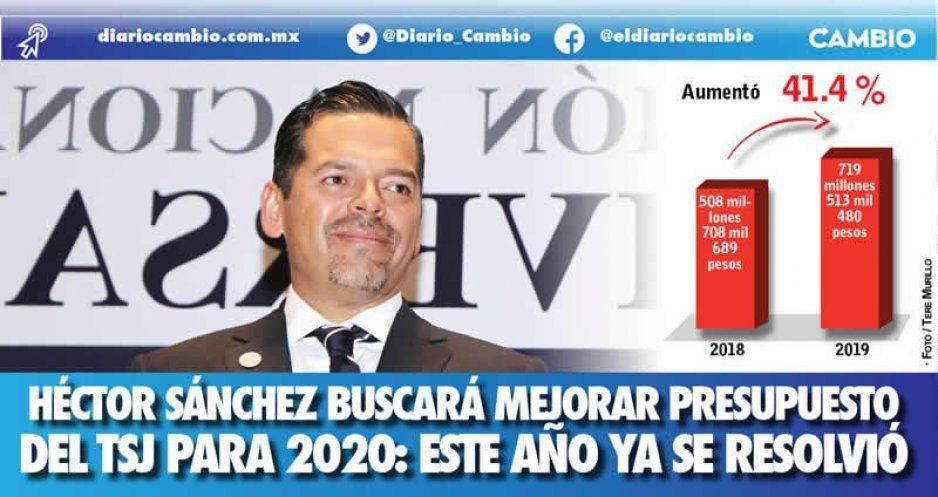 Héctor Sánchez buscará mejorar presupuesto del TSJ para 2020: este año ya se resolvió