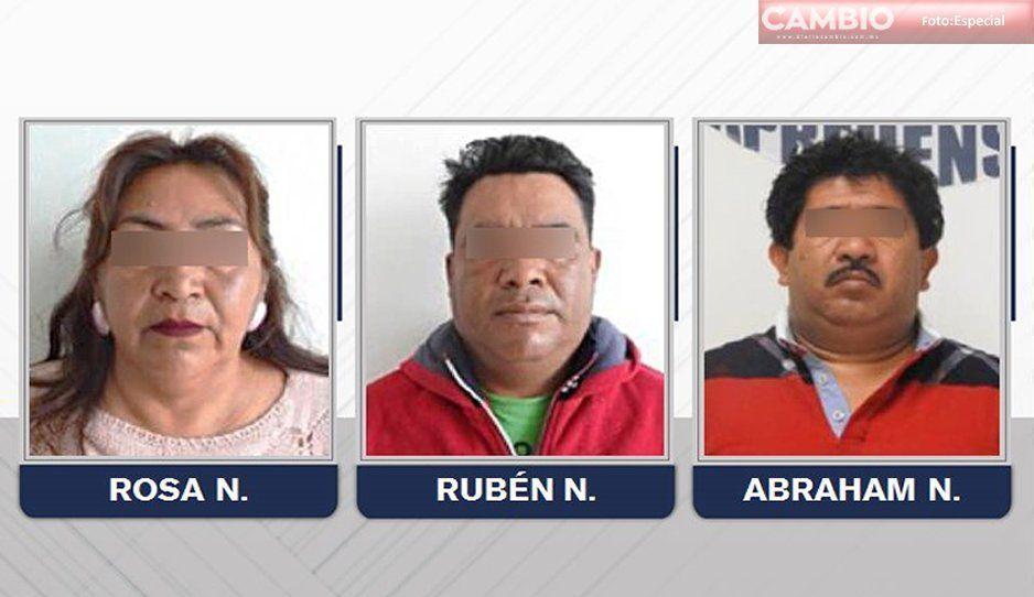 Prisión preventiva a tres líderes texmeluquences