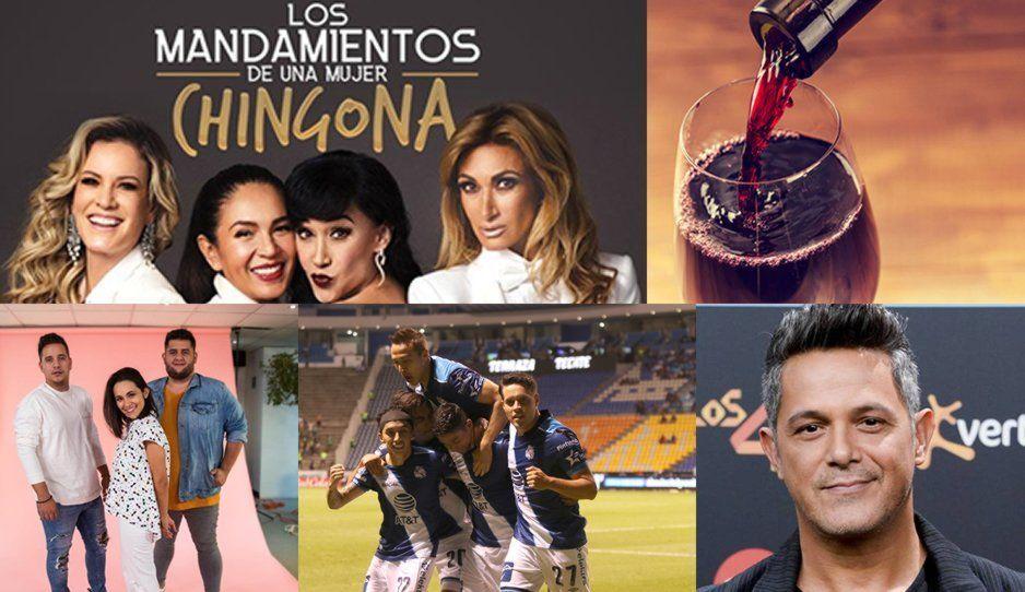 ¿Aún no tienes plan para este fin de semana? Alejandro Sanz, Feria del Vino, Puebla vs Atlas, Matisse y muchos más se presentarán en Puebla