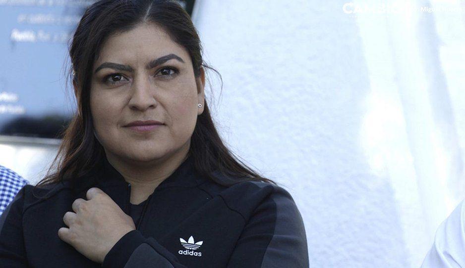 Claudia Rivera se dice lista para participar en el Maratón; correrá 5 kilómetros