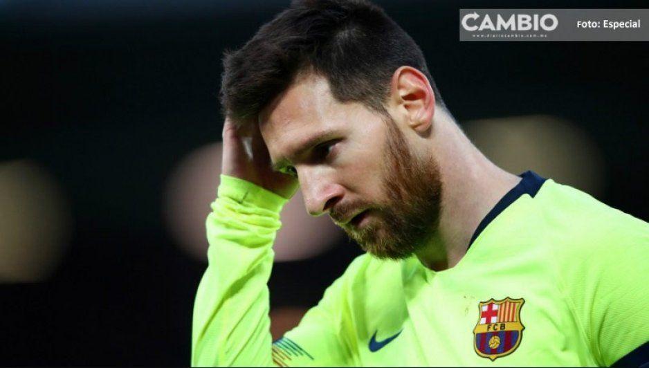 Así reacciona Lionel Messi a los reclamos de los fans por eliminación de la Champions (VIDEO)