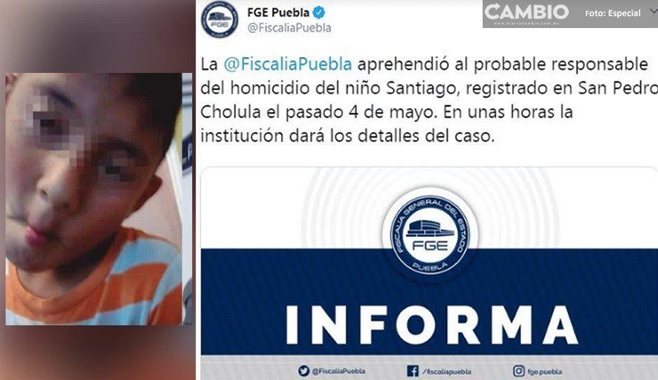 FGE confirma detención de presunto homicida de Santi