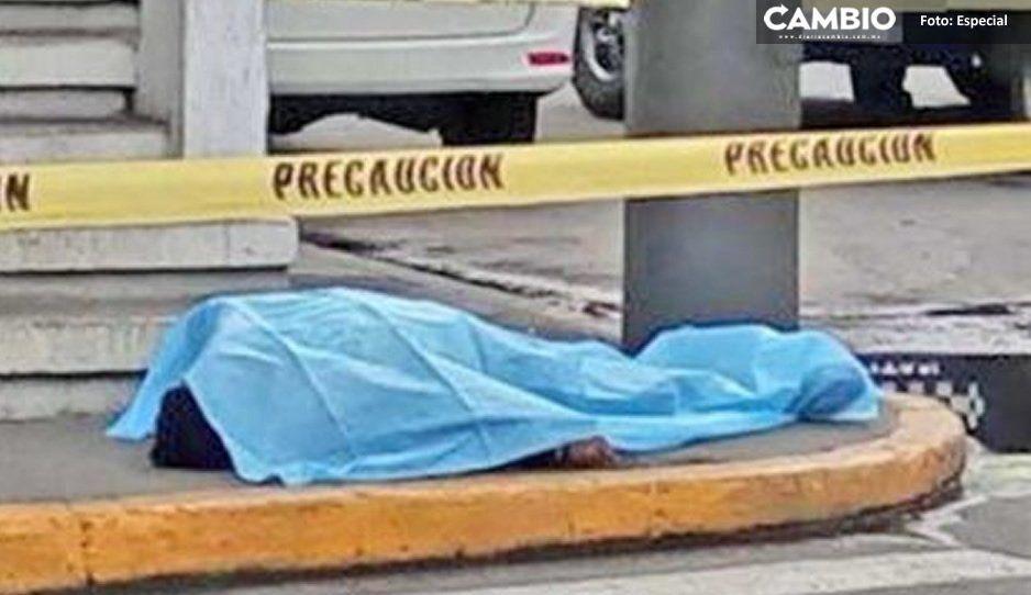 Muere por sobredosis en plena vía pública de Atlixco