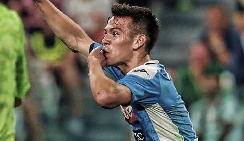 ¡El Chucky! Así fue el gol de Lozano con el que debutó en la Serie A (VIDEO)