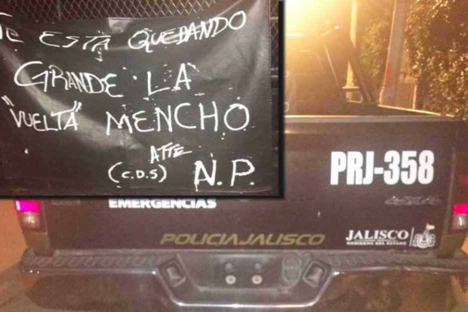 Cártel de Sinaloa deja narcomensaje al Mencho tras ataque a polis en Zapopan