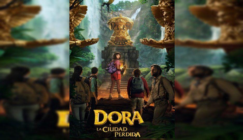 ¡Ahora en pantalla grande! Revelan primer tráiler de Dora (VIDEO)