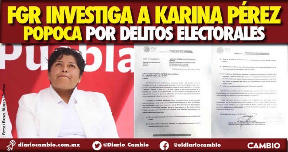 Fepade va tras Karina Pérez: la alcaldesa es investigada por cometer delitos electorales