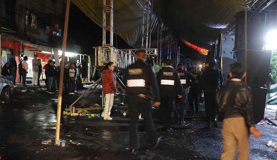 Entre cumbiones se desata balacera en la Venustiano Carranza; hay ocho heridos