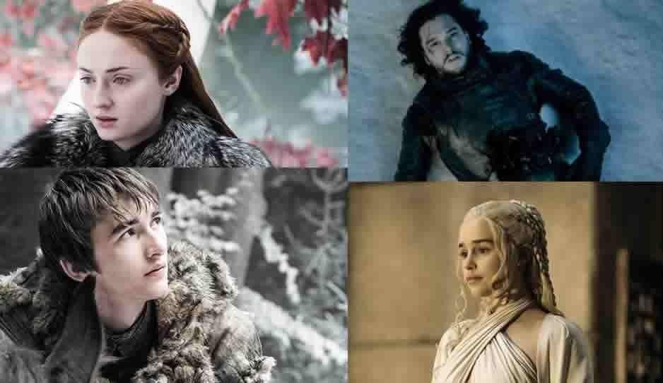 Conoce a los personajes clave de la última temporada de Game of Thrones