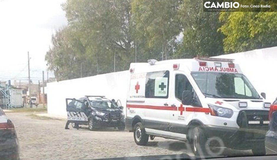 Se hacen pasar por padres de familia para asaltar escuela en la México 68; dejan herido al director