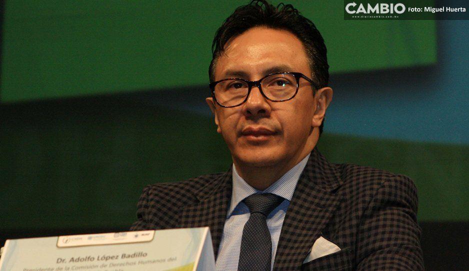 Senadores le restriegan a López Badillo su pasado en caso Chalchihuapan