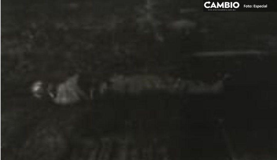 Tiran cadáver embolsado en campo deportivo de Texmelucan