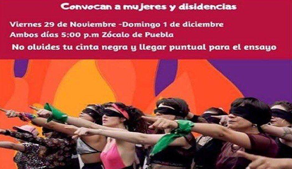 """""""¡Alerta machista!"""" Feministas convocan al performance Un violador en tu camino mañana domingo"""