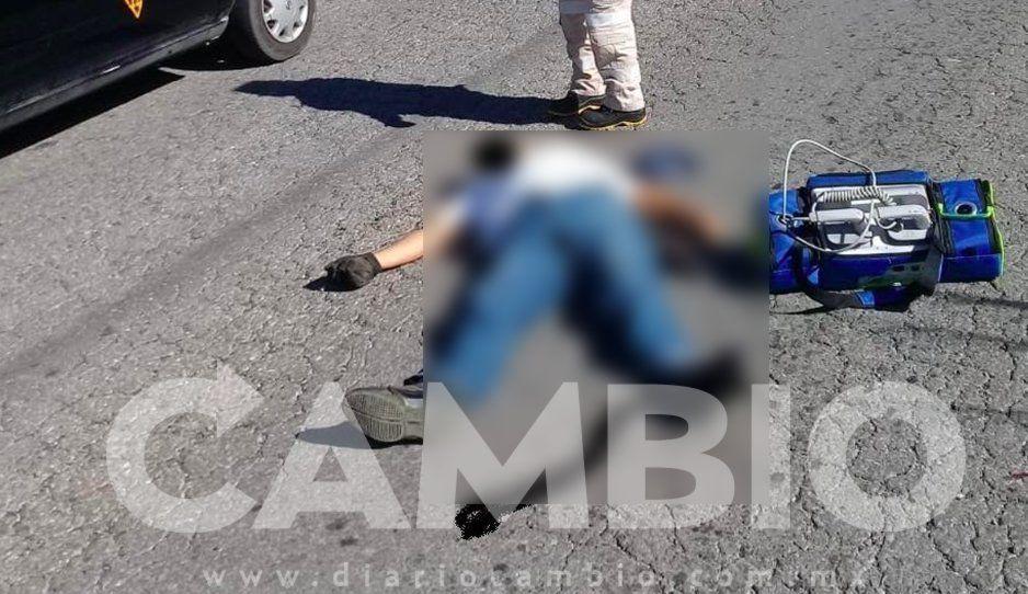Muere ciclista peregrino atropellado en la carretera Zacapoaxtla-Cuetzalan