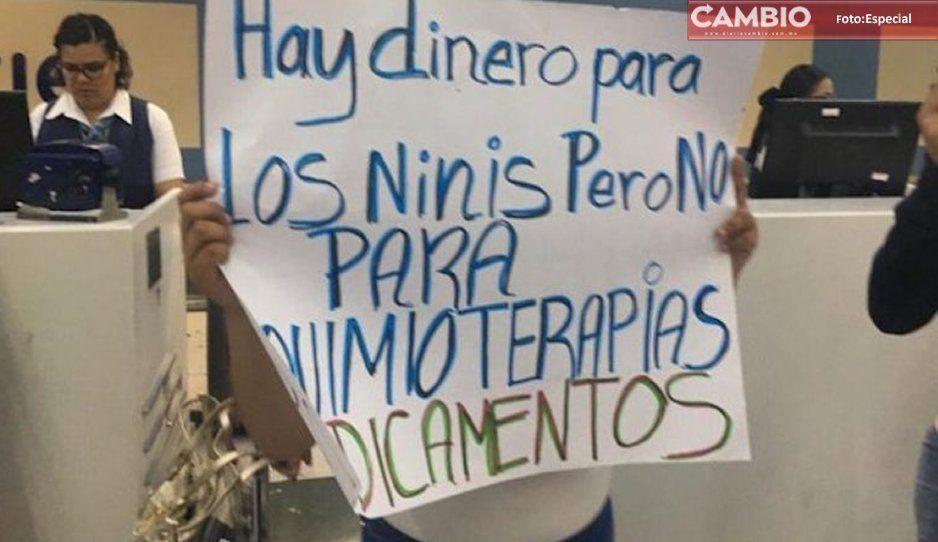 Tras 5 días de la manifestación, Secretaría de Salud entrega medicamentos a 20 pacientes con cáncer