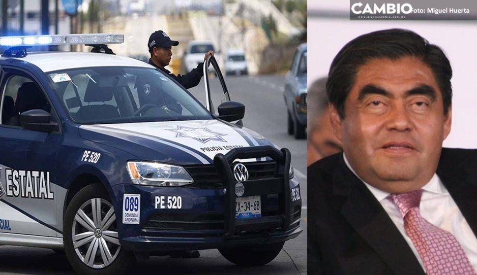 Barbosa reforzará la seguridad en Puebla con 34 patrullas más, aunadas a las mil ya adquiridas