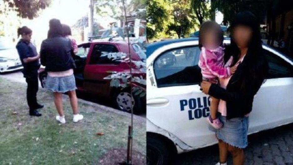 #LadyMadreApostadora deja a su hijita encerrada más de dos horas en el auto y se va jugar bingo