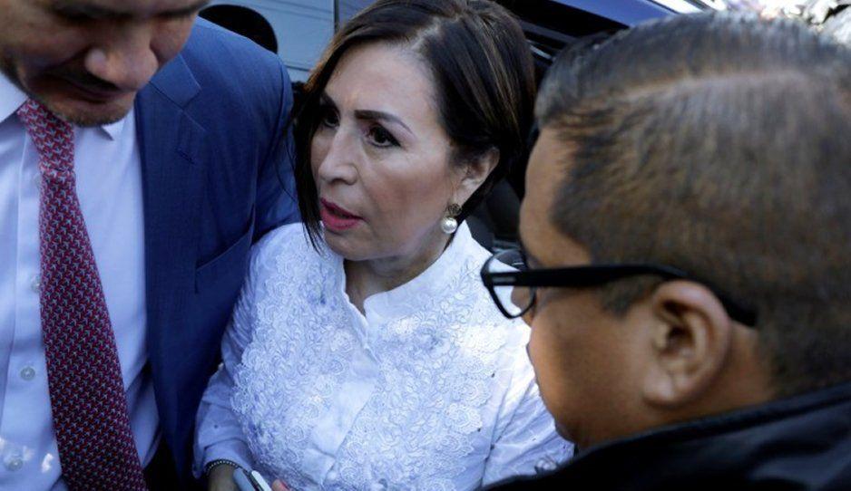 Rosario Robles tras su detención: No lo puedo creer