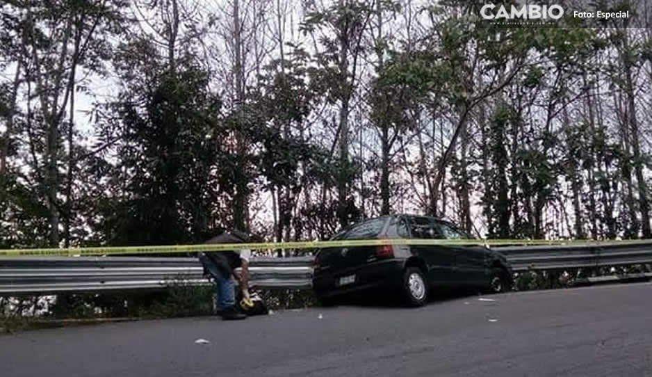 Grupo armado ejecuta a comerciante de Teteles en la carretera Zacapoaxtla- Cuetzalan