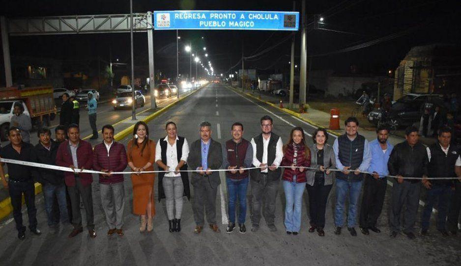 Inaugura Luis Alberto Arriaga modernización de carretera federal México-Puebla