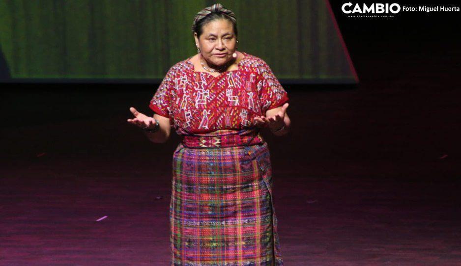 Rigoberta Menchú cierra entre aplausos el segundo ciclo de conferencias en la Ciudad de las Ideas